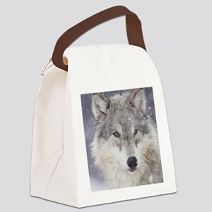 ms  Wolf Canvas Lunch Bag