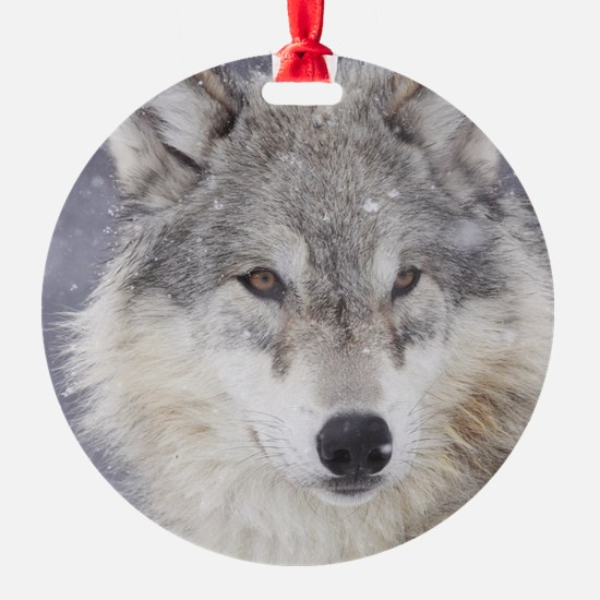 ms  Wolf Ornament