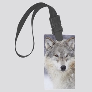 x14  Wolf Large Luggage Tag