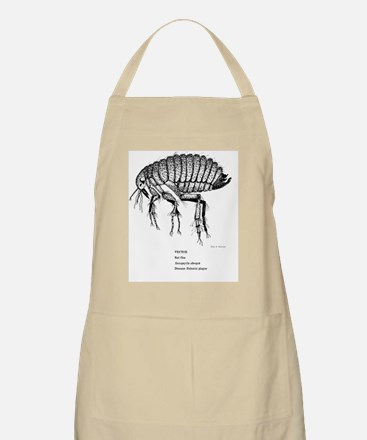 Rat Flea-Size Experiment for Cafe Press Apron