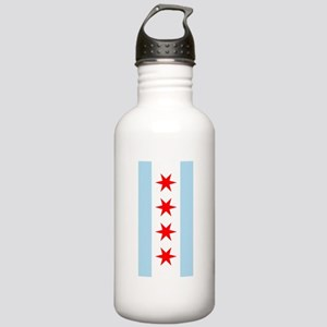 Chicago Flag iPad Case Stainless Water Bottle 1.0L