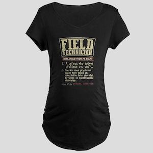 Field Technician Dictionary Term Maternity T-Shirt