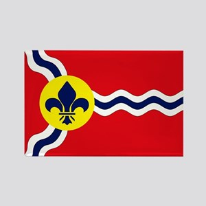 St. Louis Flag Magnets