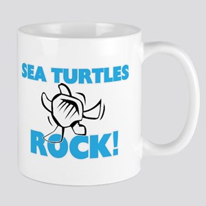 Sea Turtles rock! Mugs