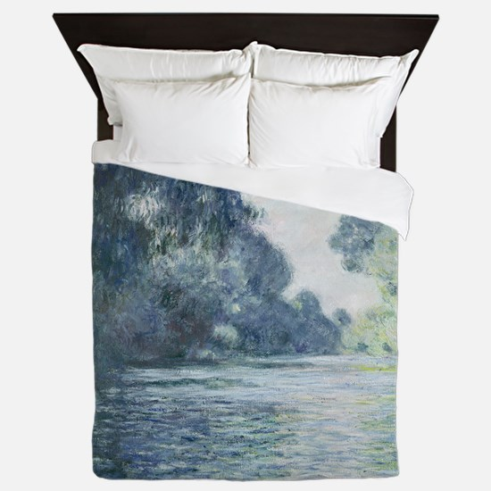 Branch of the Seine near Giverny, by M Queen Duvet