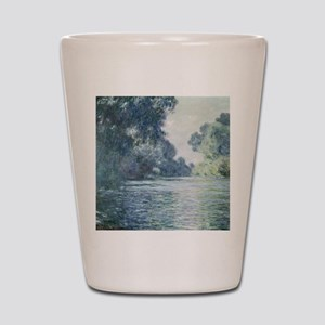 Branch of the Seine near Giverny, by Mo Shot Glass