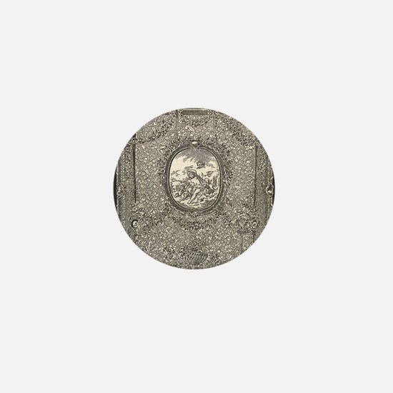 Tapestry of the Suite of Dieux Arms Mini Button