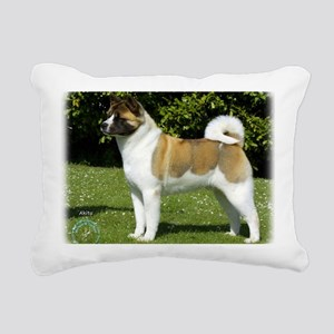 Akita 9R047D-143 Rectangular Canvas Pillow