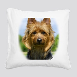 Australian Terrier 9R044D-19 Square Canvas Pillow