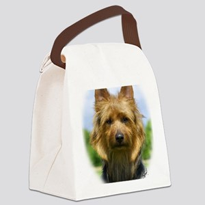 Australian Terrier 9R044D-19 Canvas Lunch Bag