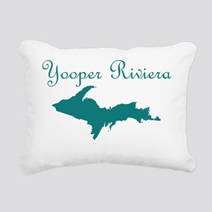 New_Turquoise_Yooper_Riv Rectangular Canvas Pillow