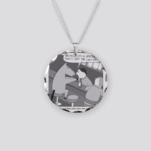 Why the Long Face Necklace Circle Charm