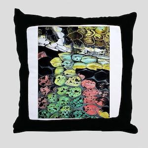 lg-snake Throw Pillow