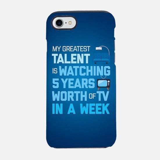 Greatest Talent Emoji iPhone 7 Tough Case