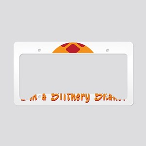 Slithery Snake License Plate Holder