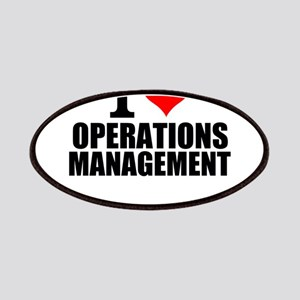 I Love Operations Management Patch