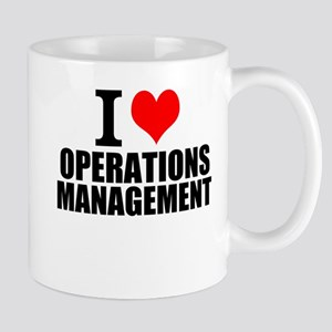 I Love Operations Management Mugs