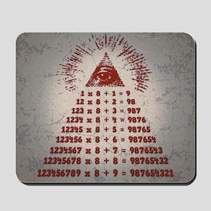 mathemagic-TIL Mousepad