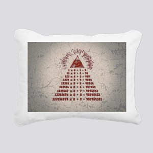 mathemagic-OV Rectangular Canvas Pillow