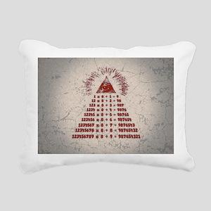mathemagic-OV Rectangular Canvas Pillow