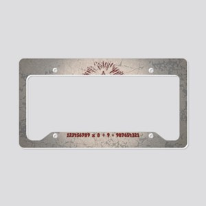 mathemagic-OV License Plate Holder