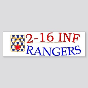 2nd Bn 16th Infantry cap1 Sticker (Bumper)