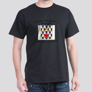 2nd Bn 16th Infantry Dark T-Shirt