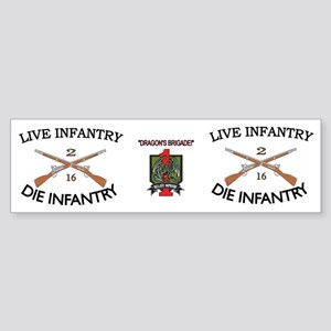 2nd Bn 16th Infantry mug4 Sticker (Bumper)