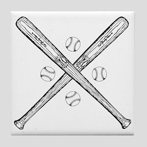 baseball01 Tile Coaster