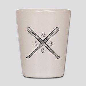baseball01 Shot Glass