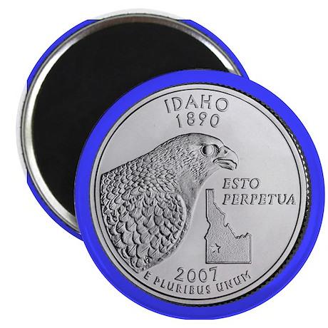 2007 Idaho State Quarter Magnet