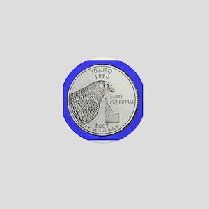2007 Idaho State Quarter Mini Button