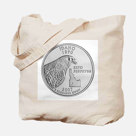 2007 Idaho State Quarter Tote Bag