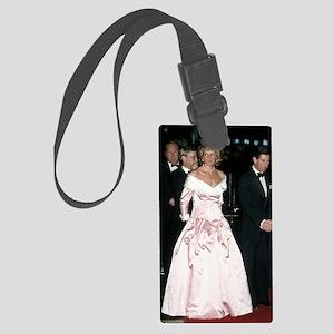 HRH Princess Diana Germany Large Luggage Tag