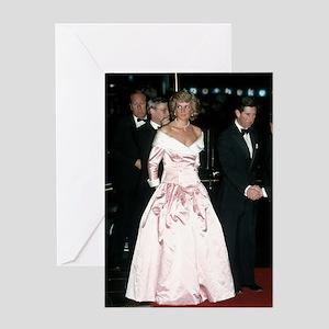 HRH Princess Diana Germany Greeting Card