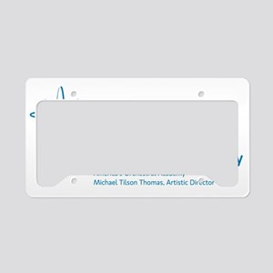 NWS_lockup_blue License Plate Holder
