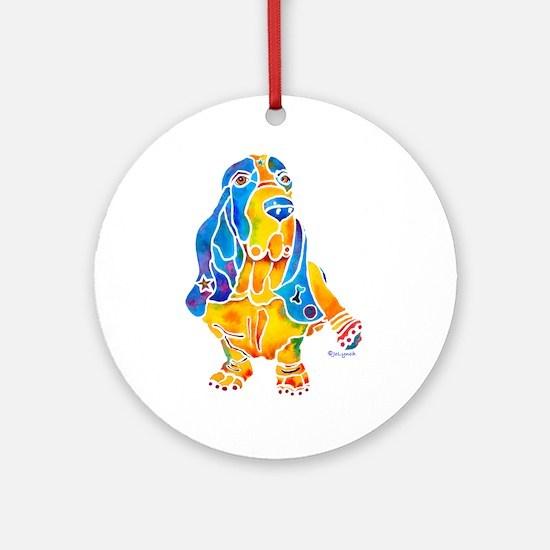 Bassett Hound Gifts Ornament (Round)