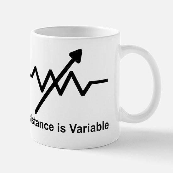 variable resistor Mug