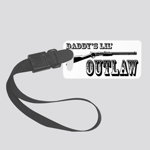 DADDY OUTLAW 1 Small Luggage Tag