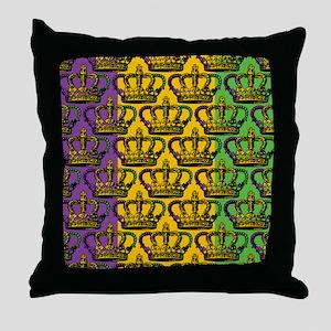 MGrasFcolorsCrPatCMp Throw Pillow