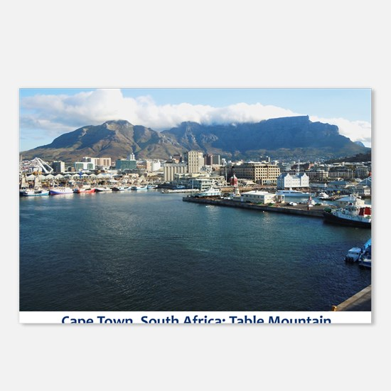 Table Mountain Title Postcards (Package of 8)