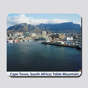 Table Mountain Title Mousepad