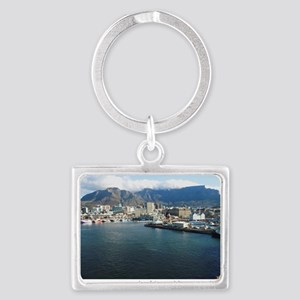 Table Mountain Title Landscape Keychain