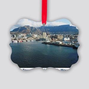 Table Mountain Title Picture Ornament