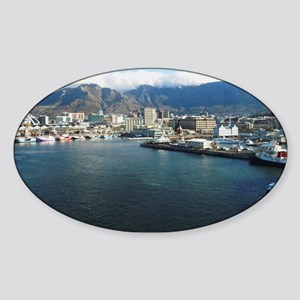 Table Mountain Title Sticker (Oval)