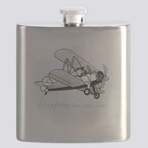 biplane low and slow Flask