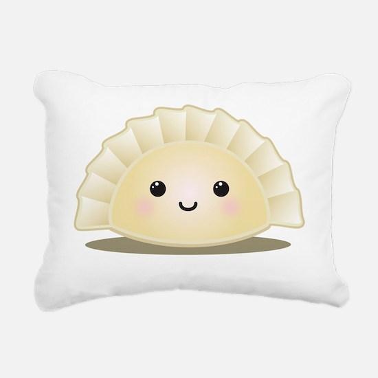 dumpling Rectangular Canvas Pillow