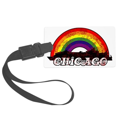 Rainbow 2011 Chicago Large Luggage Tag