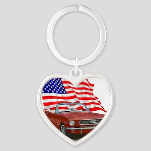66Must-10 Heart Keychain