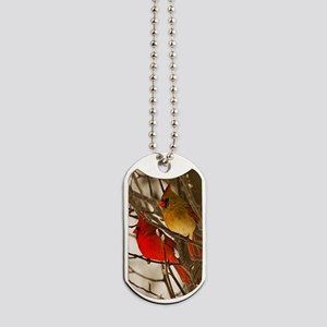cardinals2poster Dog Tags
